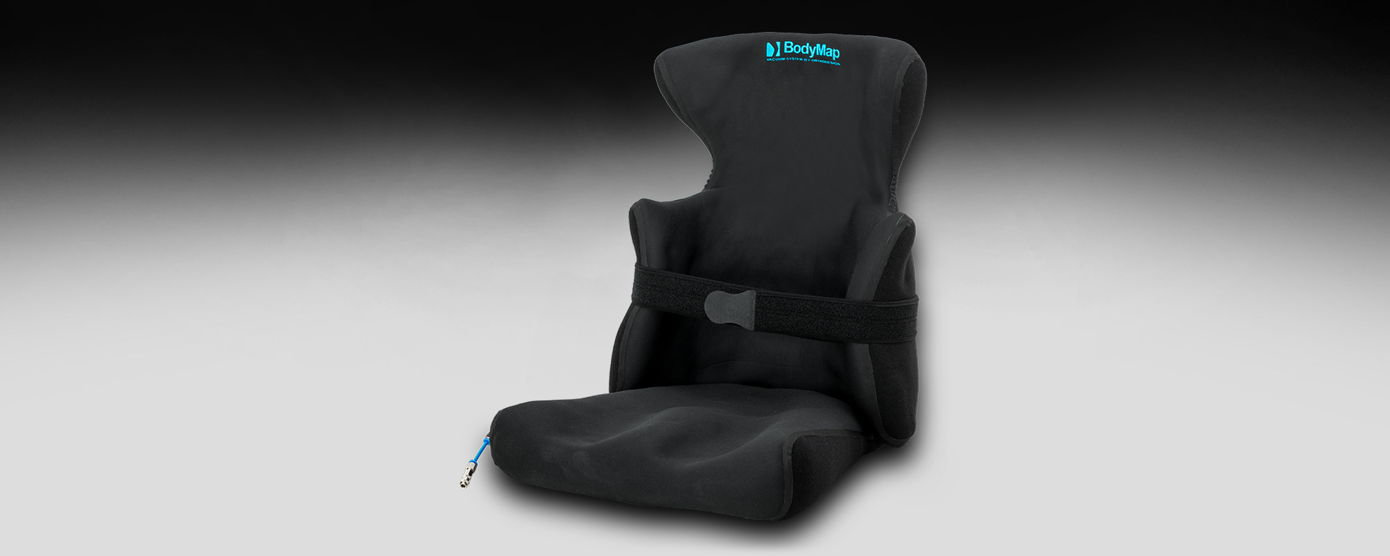 Positioning chair with headrest and lateral support BodyMap AC