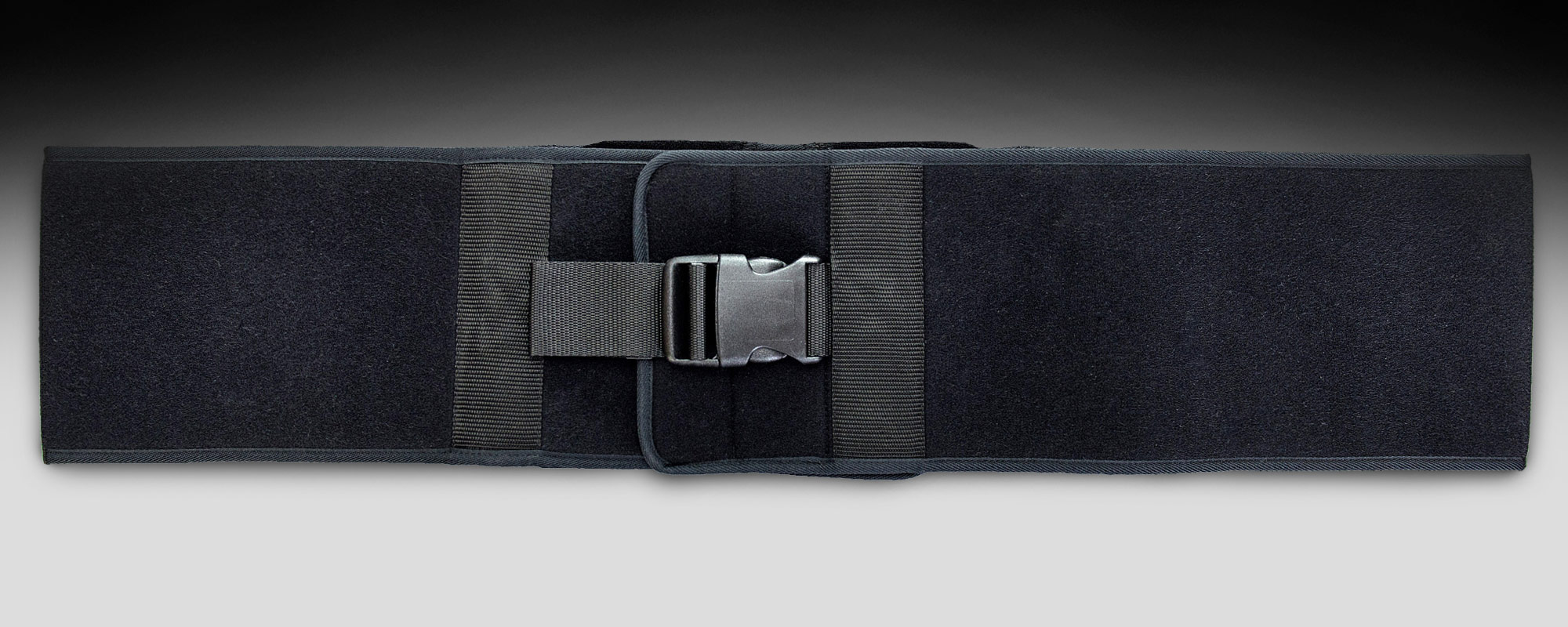 Non-elastic chest belt