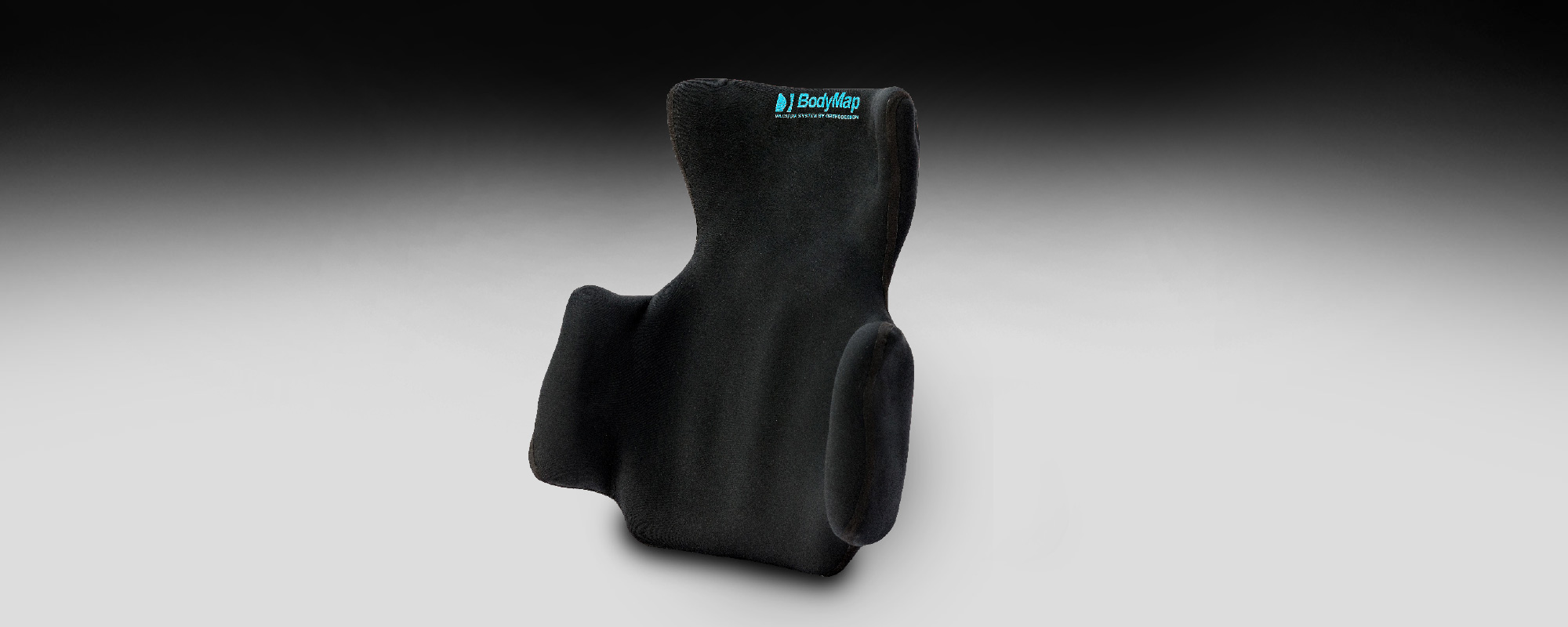 Back cushion with headrest and lateral support BodyMap® C