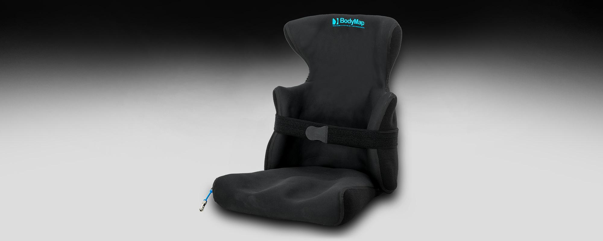 BodyMap® AC – Fotelik z pelotami bocznymi i zagłówkiem